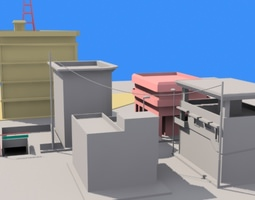 3d small town 1