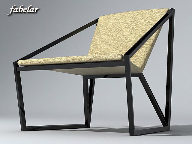 chair 3d model max obj 3ds 1