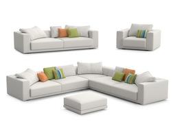 MDF Italia Sliding sofas 3D model