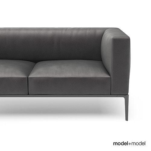 walter knoll jaan sofas 3d model. Black Bedroom Furniture Sets. Home Design Ideas