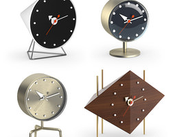 Vitra Nelson Desk clocks 3D