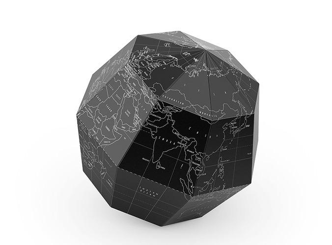 geografia paper globe 3d model max obj fbx 3