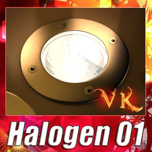 halogen lamp 01 high detail 3d model max obj mtl 3ds fbx mat 1