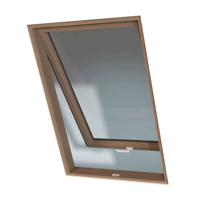 Wood Frame With Glass Window 3d Model