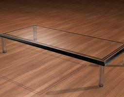 3d model customizable glass table
