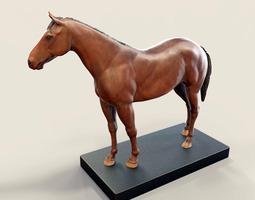 horse 3d print model