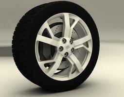 3D model Nissan Maxima 2013 rims
