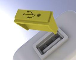 3D print model USB Dust Cover