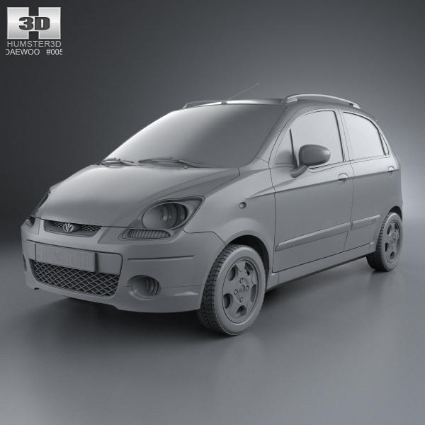 3D Daewoo Matiz M250 2011 | CGTrader