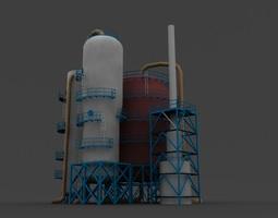 3D model refinery unit