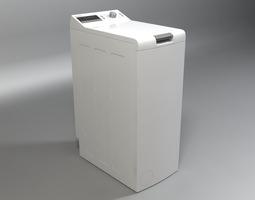 washer bosch logixx 6 wot24454by 3d model