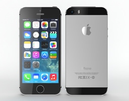 3D Iphone 5s Black