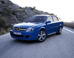 3D Opel Vectra 2002