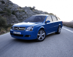 Opel Vectra 2002 3D Model