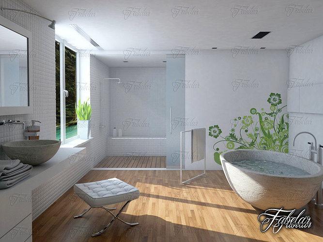 bathroom 14 3d model max obj mtl fbx c4d 1