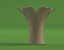 3D model Flower Vase - designed for Mcor Printer