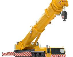 Mobile Crane Liebherr LTM 1500 3D Model