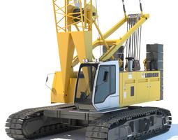 Liebherr Crawler Crane LR 1100 3D Model