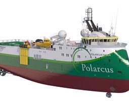 Seismic vessel Polarcus Naila 3D