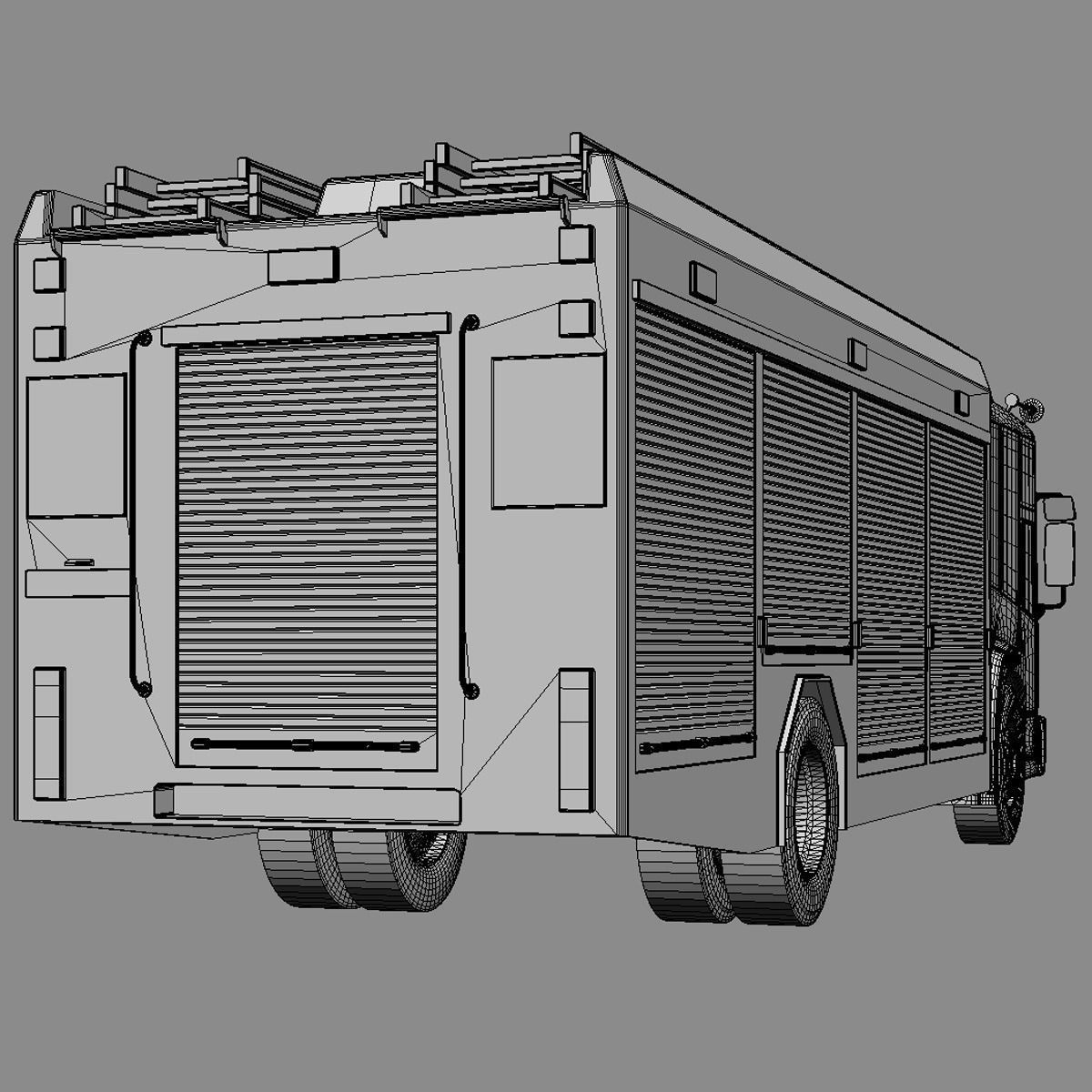 Fire Engine Diagram 3d Model Mercedes Econic Truck Cgtrader Max Obj Mtl 3ds Fbx Lwo Lw Lws Hrc Xsi