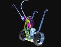 Segway Chopper 3D print model