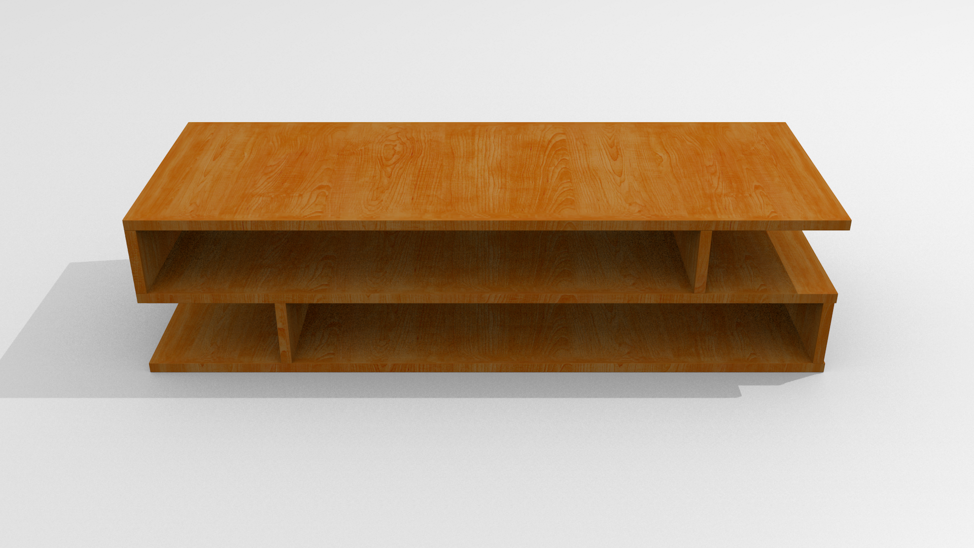 Coffee Table 3d Model Obj Fbx Blend Dae Mtl