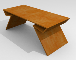 conference 3D Modern table