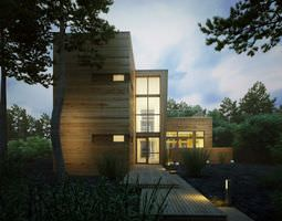 photorealistic house collection 3d