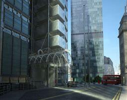 Photorealistic Skyscraper Collection 3D