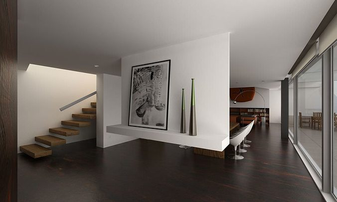 photorealistic house interior collection5 3d model max 1