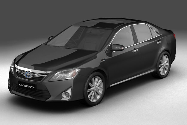 2012 Toyota Camry Hybrid Asian
