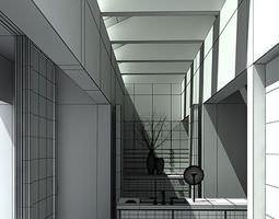 Modern Kitchen Scene 3D model