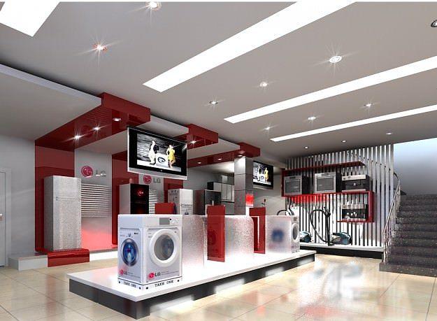 3d model appliance store 3d model max fbx 1
