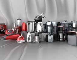 Kitchen Appliances Collection 3D