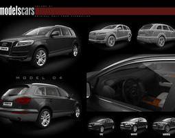 car collection 3d model