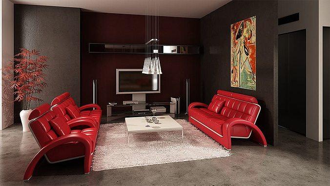 modern furniture collection 3d model max obj 3ds fbx dxf mxs 1