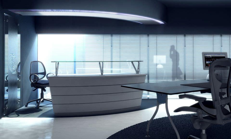 Office Furniture Collection 3d Model Max Obj 3ds Fbx C4d