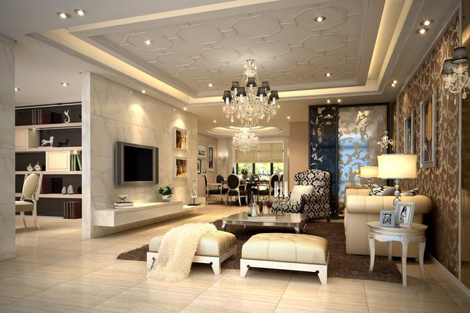 Thiết kế, lắp đặt nội thất biệt thự cao cấp