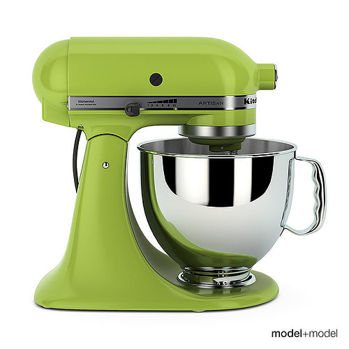 design your own kitchen aid mixer 3d stand mixer kitchenaid artisan cgtrader 750
