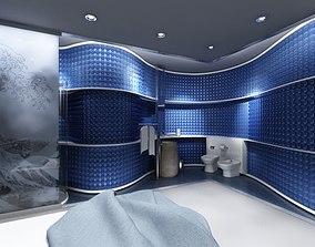 Original Blue Bathroom 3D