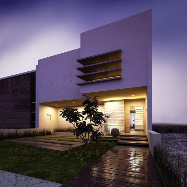 Modern house 3d model max for Modern house 3d model