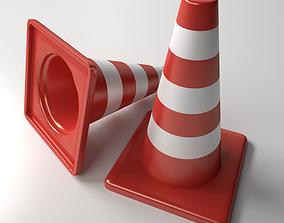 3D Traffic Cones