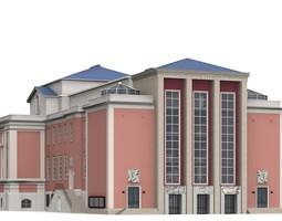 3D model Grillo Theatre