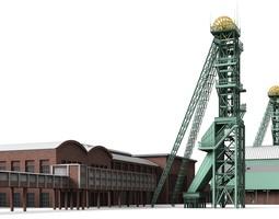 Westphalia Colliery 3D model