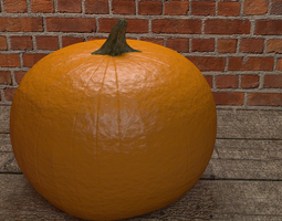 pumpkin 3D