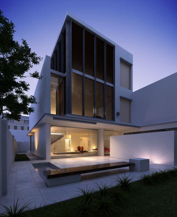 Modern Three Floor House