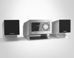 Panasonic CD Stereo System 3D Model