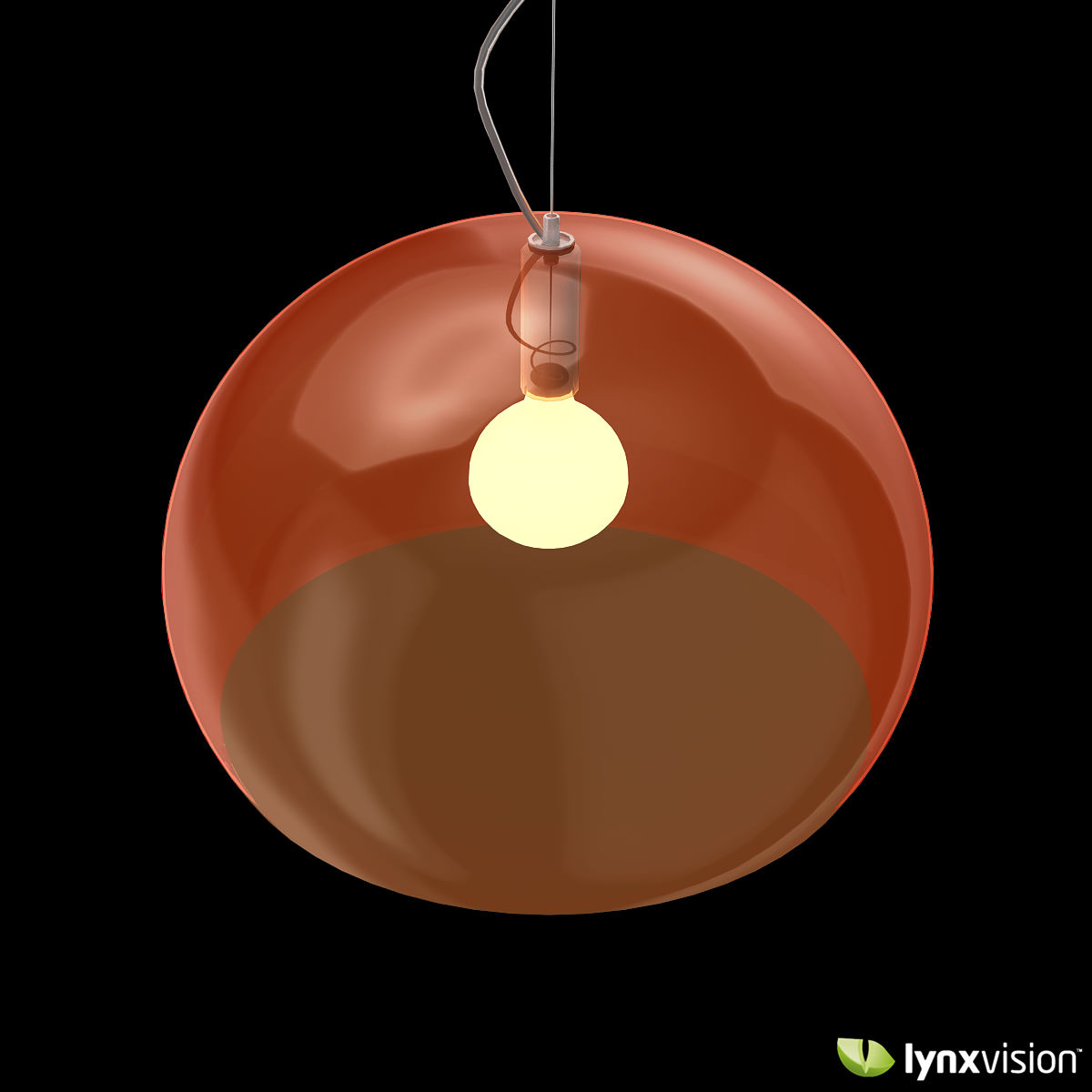 Fly Pendant Lamp By Kartell 3d Model Max Obj Fbx
