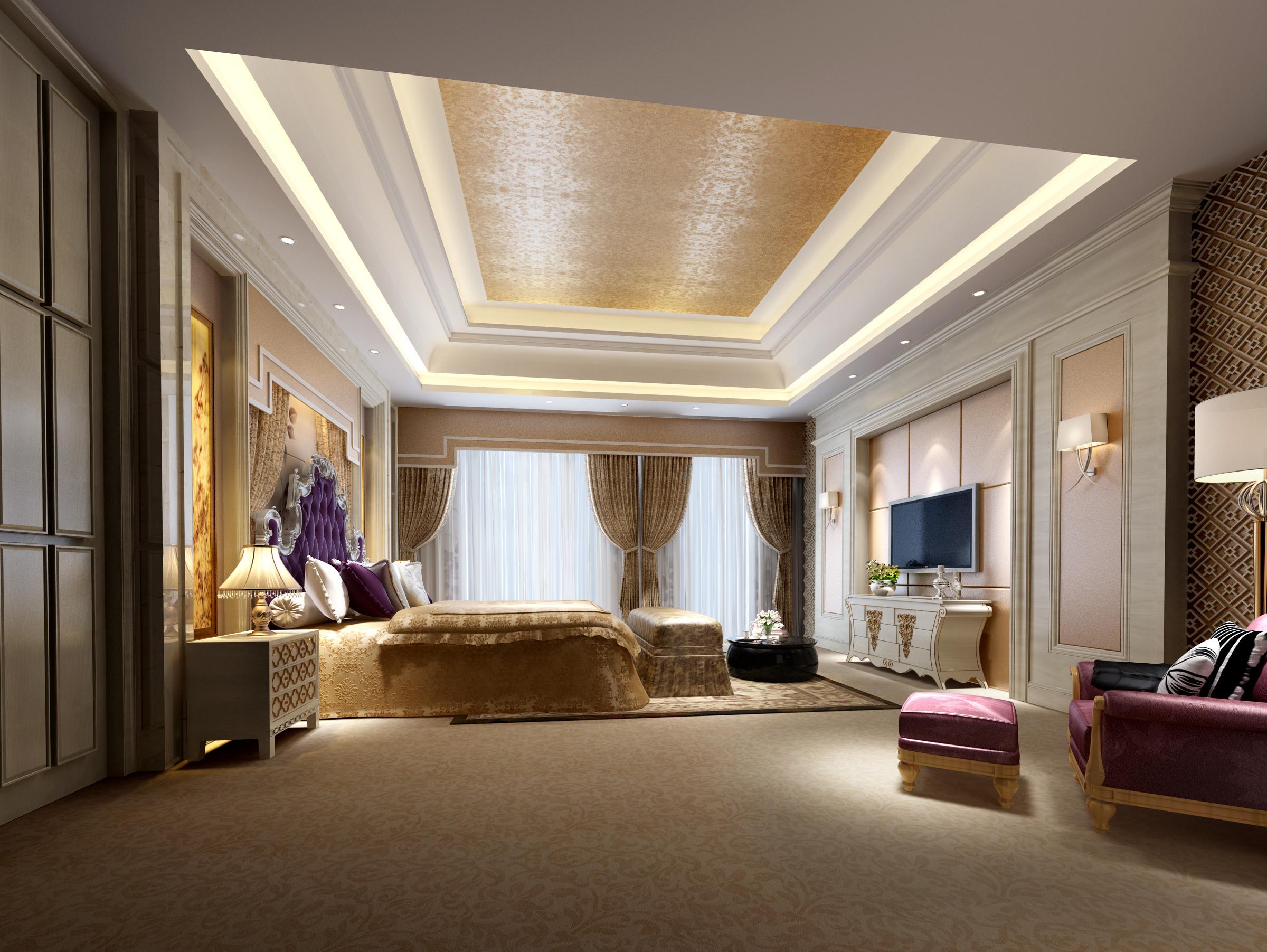 Model Bedroom Interior Design Collection Living Room And Bedroom Collection 1 3d Model Max