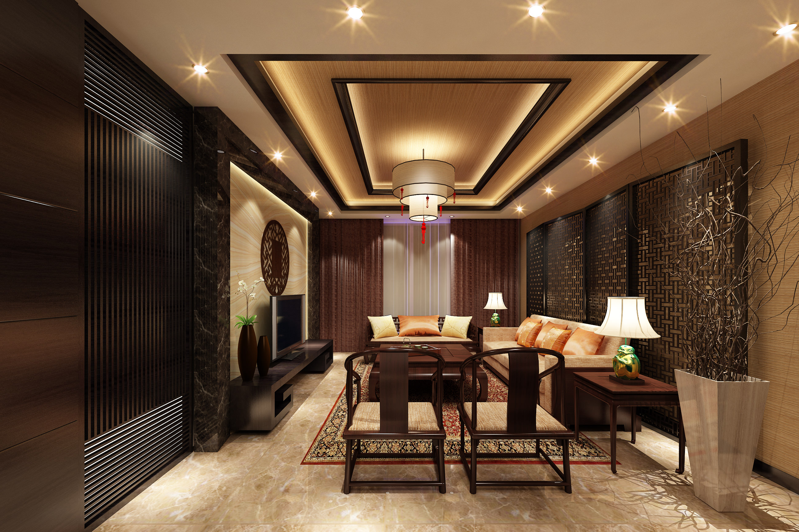 Model Living Room Design Collection Living Room And Bedroom Collection 2 3d Model Max Tga